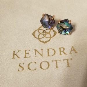Kendra Scott Abalone Shell Earings